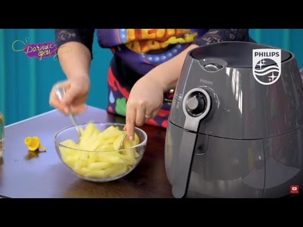 Аэрогриль Philips HD9220: рецепт домашнего картофеля фри