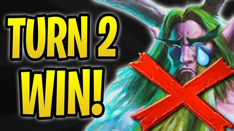 How to WIN on TURN 2 Anti Combo Warlock vs Druids The Boomsday Project Hearthstone