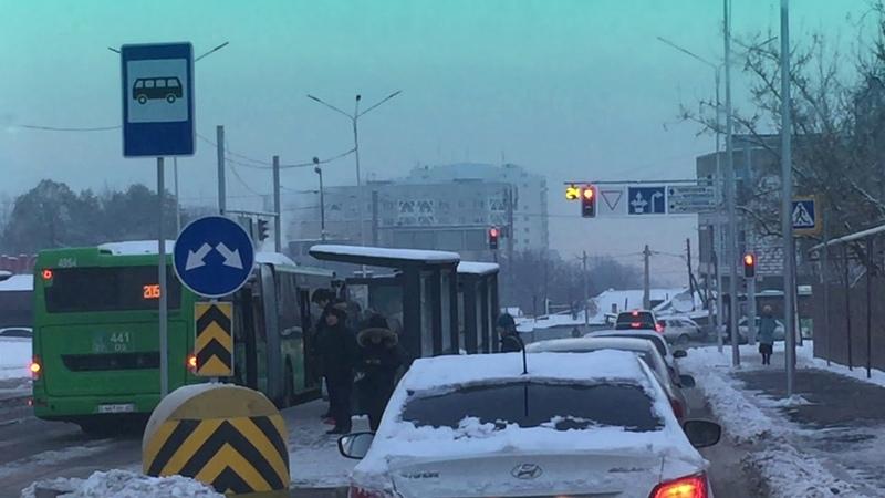 Проедем с новой базой, по мкр. Орбита (Алматы), увешанной СЕРГЕК.