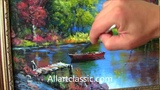 Beautiful River Landscape Painting