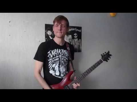 Lordi - Hard Rock Hallelujah (2006 eurovision song contest winner) (guitar cover)