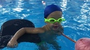 Учимся плавать 5 лет. Открытый урок. / Learn to swim 5 years