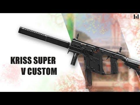 Макрос на Kriss Super V Custom прицел 20 сэнс 1 8