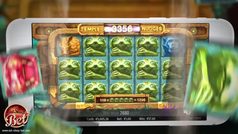 Temple of Nudges Video Slot
