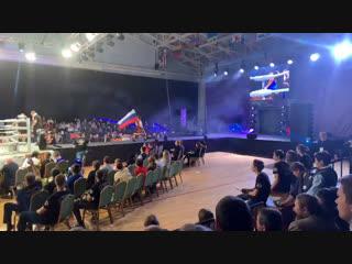 РОССИЯ (Александр Сгудеев МОСКВА)- СЕРБИЯ (Светислав Николаев)-ММА -77 кг