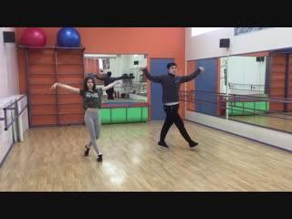Senya Revlon и Барских Марина Тренировка 17.2.19