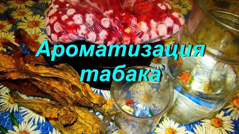 ДНЕВНИК ТАБАКОВОДА № 46 18 08 Ароматизация соусирование табака