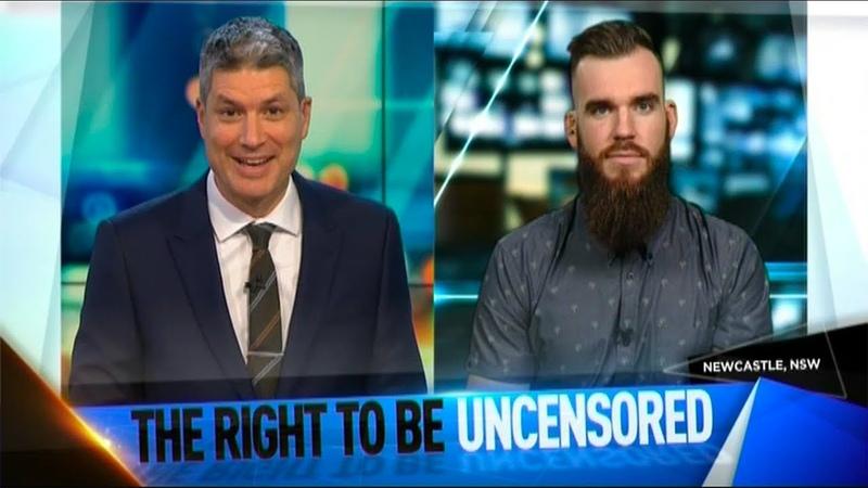 Aussie Comedian Vs New Zealand (TV Interview)