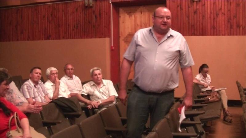 Встреча кандидата в губернаторы Уо Алексея Куринного с депутатами Мелекесского района.