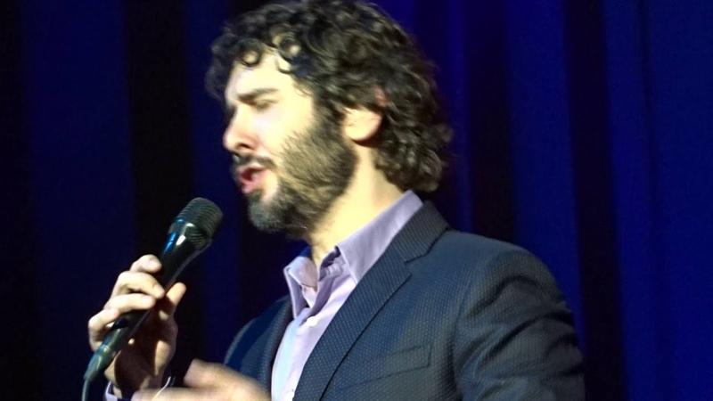 Josh Groban - Hymne à lamour (Paris 02.12.2015)