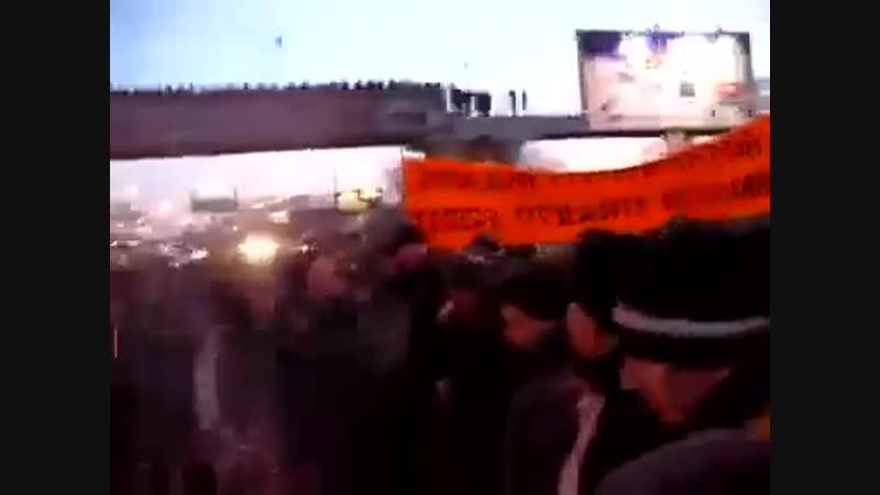 Срочно Во Владивостоке революция Приморье против путина
