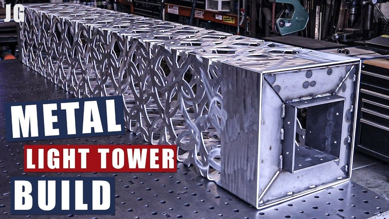 Metal Light Tower Build | JIMBO'S GARAGE