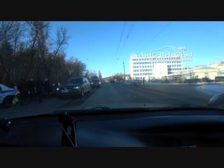 Последствия ДТП на Волчанской 30.11.18
