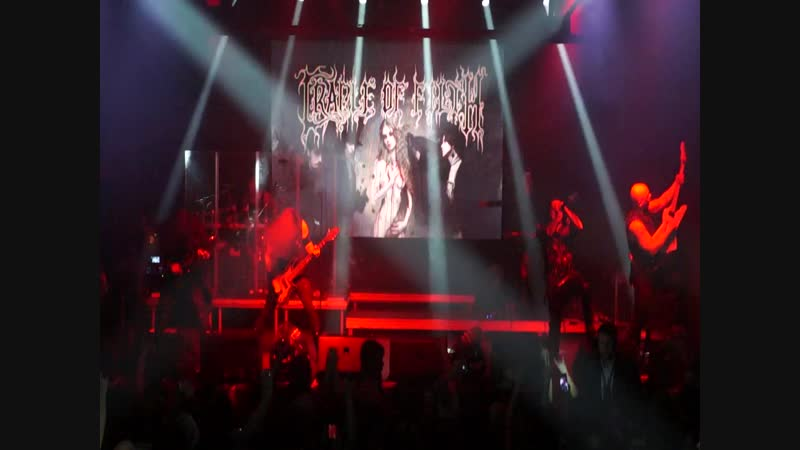 Cradle Of Filth - You Will Know The Lion by His Claw [Station Hall, Moscow 2018]