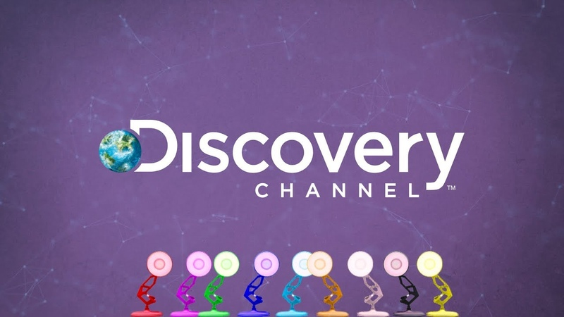 1404-Nine Pixar Lamps Luxo Jr Logo Spoof Discovery Channel