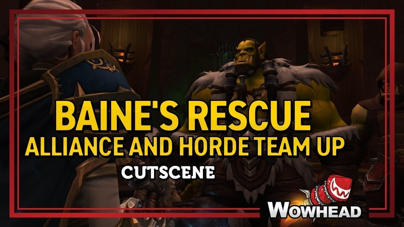 Baines Rescue Alliance and Horde Team Up Cinematic