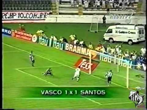 Vasco 1 x 1 Santos - Torneio Rio SP 2002