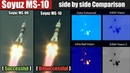 Soyuz MS-10 (Unsuccessful) Soyuz MS-09 (Successful) Mission side by side Comparison