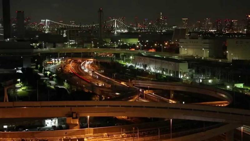 Tokyo Wangan at night 東京湾岸エリア夜景