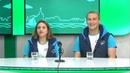 Гости на Радио 2. Виктория Коновалова и Юрий Баранов, волонтёры форума Амур