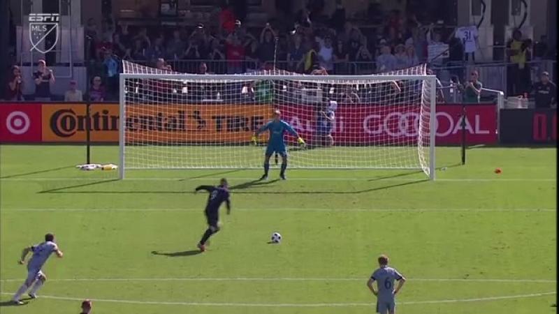 Дубль Уэйна Руни в матче «ДС Юнайтед» - «Чикаго» 07.10.2018