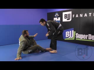 Eduardo telles - ankle pick from open guard