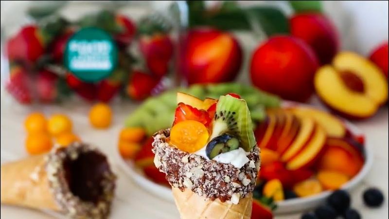 Бизнес на фруктах в шоколаде Фруктовый рожок в шоколаде Франшиза Компания Food for Good