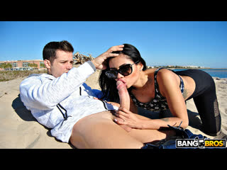[bangbros] canela skin - public anal and squirting with canela skin new porn 2019