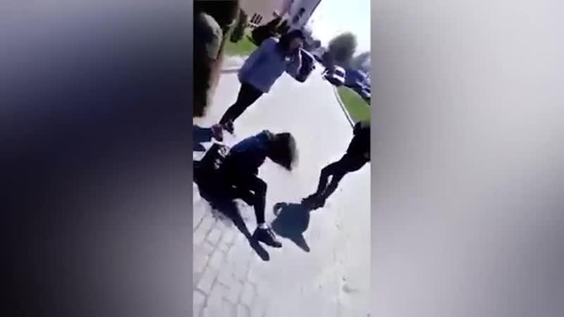 Получай, бандеровская курва!: польские подростки жестоко избили украинку