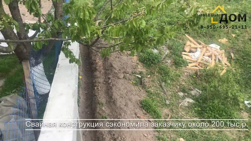 Подпорная стена в Брянске участок на склоне выравнивание участка бетонирование