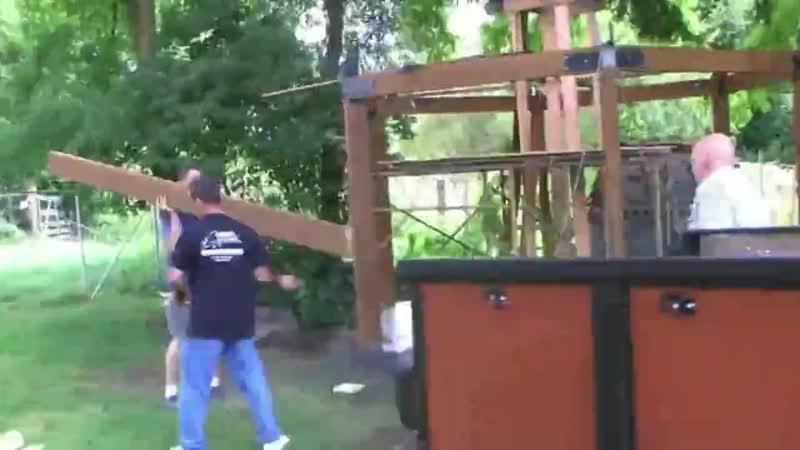 Зона барбекю на даче ускоренное видео