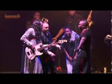 Earth Wind and Fire performing with Kendrick Lamar and Chance The Rapper at Bonnaroo 2015