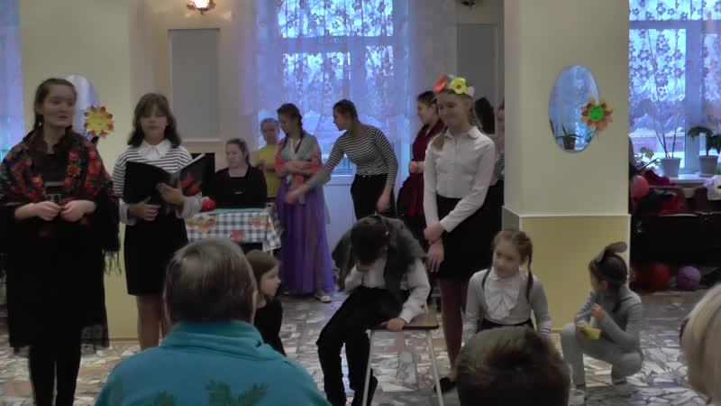 Гайвинский Дом Инвалидов Встреча поколений - концерт 7 ноября