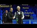 Ronnie O'Sullivan vs Neil Robertson - (Session 2) Tour Championship Snooker 2019 Final