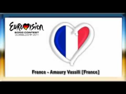 Eurovision 2011 France Amaury Vassili Sognu