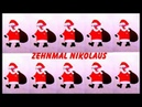 10 kleine Nikoläuse Kinderlied mit Text zum Mitsingen