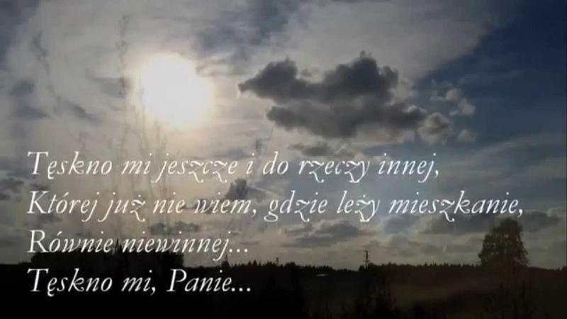 Cyprian Kamil Norwid Moja piosenka