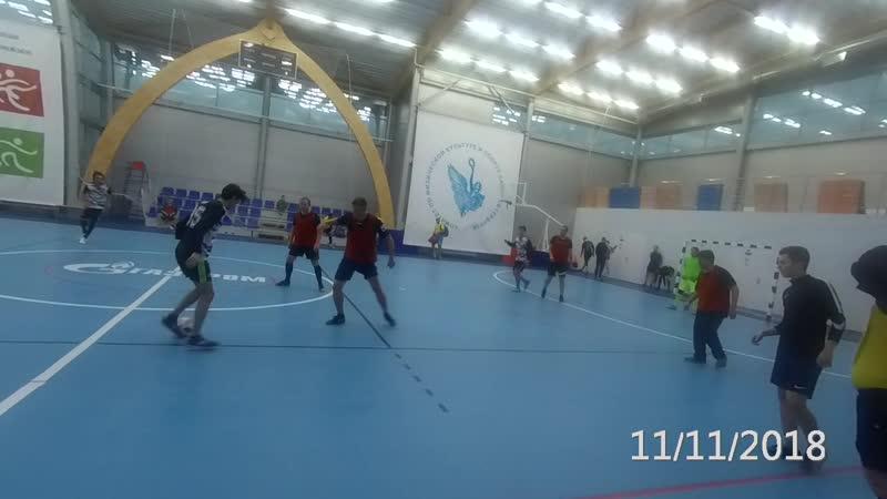 Акулы - Интер Мурино 11-11-2018 рол 3