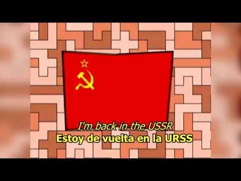 Back in the USSR - The Beatles (LYRICSLETRA) [Original]