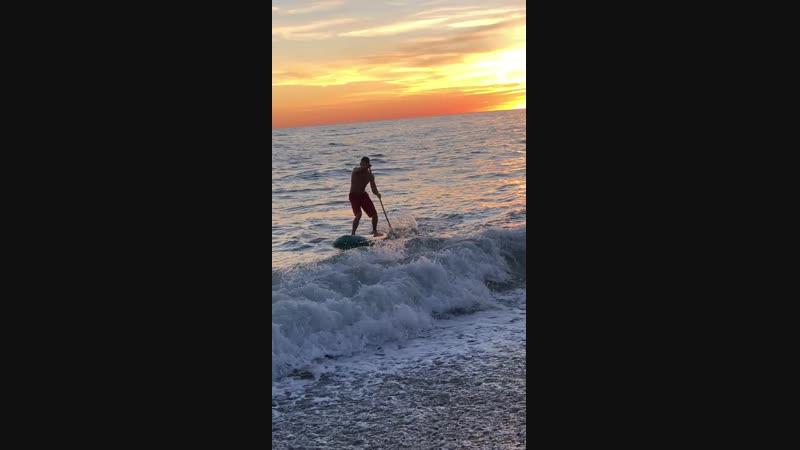 закрываем сезон sap сап серфинг