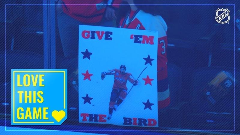 Evgeny Kuznetsov appreciates fan's innovative The Bird sign