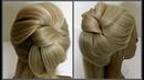 Прическа в виде Банта Обучение прическам Course on hairstyles