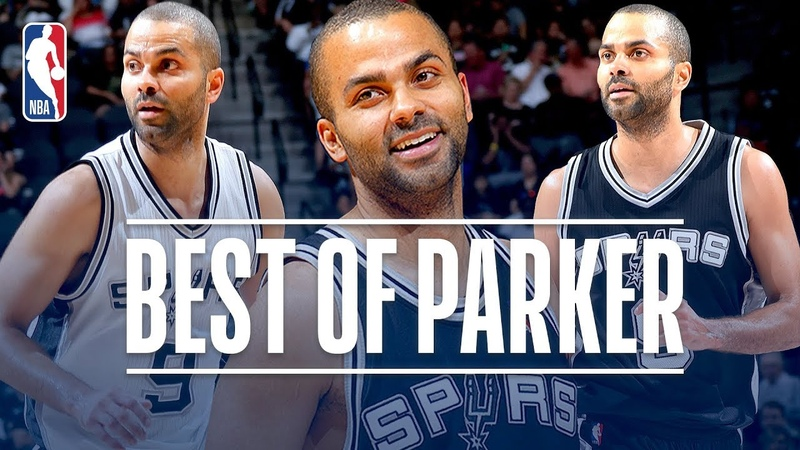 Tony Parker's Greatest Moments with the San Antonio Spurs NBANews NBA Surs TonyParker Hornets