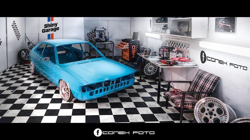 VW Scirocco MK1 Dare Garage Scan Inspection Spray