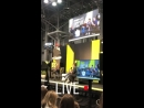 VIDEO New video of Bob during his interview with SYFY at NYCC via cw_the100 IG