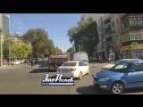 Прыжки через прицеп на Буденновском/Красноармейской - 08.10.18 - Это Ростов-на-Дону!