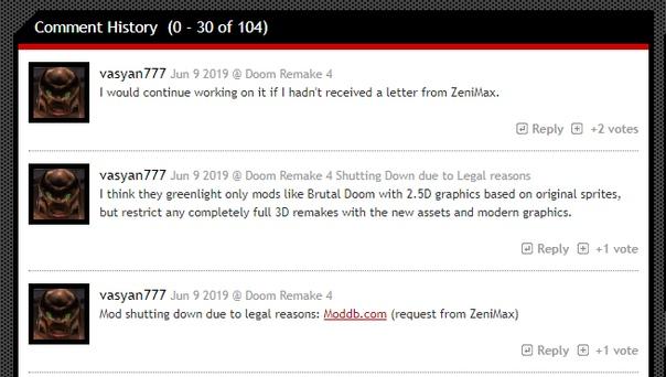 ZeniMax Media запретила моддеру разрабатывать ремейк оригинальной