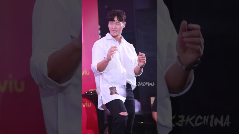 Kim Jong Kook dance TT from twice at Viu No Sleep No FOMO Launch party 金钟国跳TT