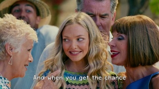 Mamma Mia! Here We Go Again - Dancing Queen (Lyrics) 1080pHD