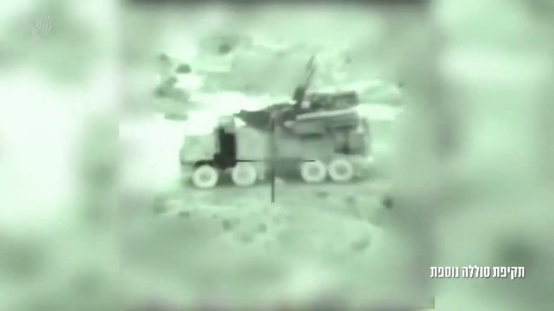 Уничтожение комплекса «Панцирь С-1» в Сирии